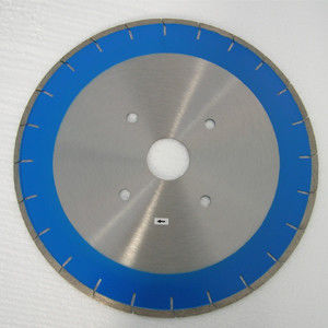 Blue Quick Cut  400mm 350mm  Stone Cutting Saw Blades , Brick Marble Cutting Disc